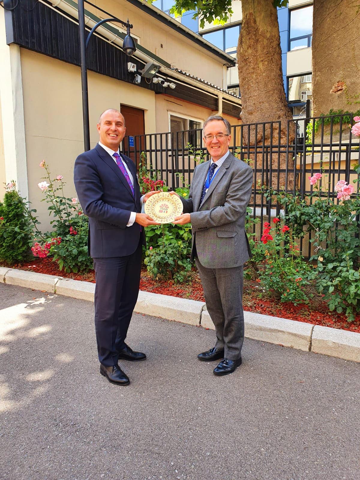 Bükreş İngiltere büyükelçiliği ziyaretimiz 1